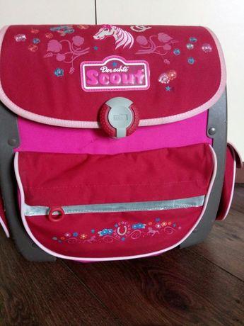 Каркасный портфель-ранец короб Scout Германия для девочки