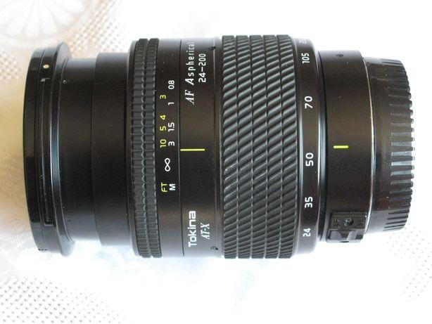 obiektyw Tokina 24 - 200 mm do Canona