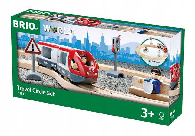 BRIO деревянная железная дорога 33511 паровоз паровозик