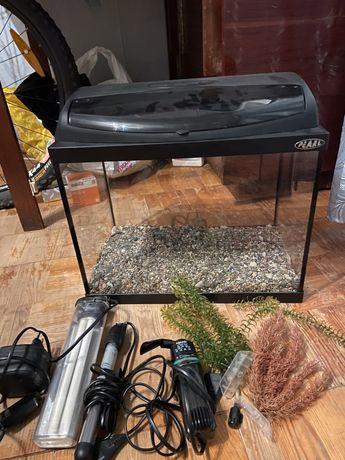 Продам аквариум (aquael)в сборе.Цена!!!