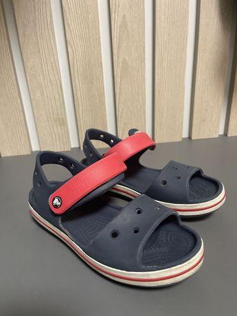 Crocs дитячі сандалі на липучці
