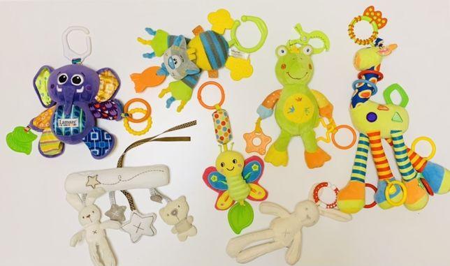 Развивающие игрушки-подвески на коляску, кроватку