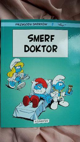 Komiks Przygody Smerfów Doktor Smerf tom 18 Egmont nowy
