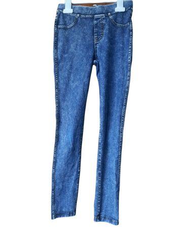 Spodnie dziewczęce 140