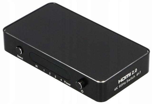 Switch HDMI 4x1 UHD 4K HDCP 2.2 HDR