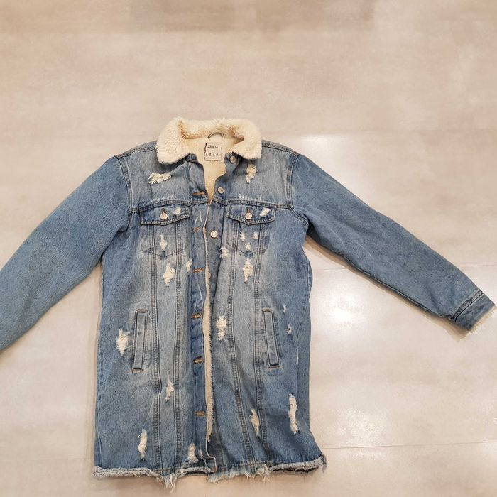Kurtka ocieolana jeansowa PRIMARK r.36 Sosnowiec - image 1