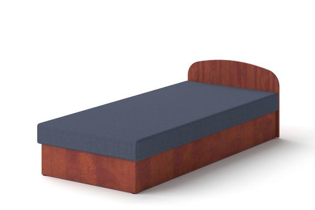 Łóżko hotelowe 90 x 200 Grusza tapczan z materacem
