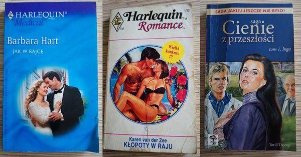 Romanse trzy książeczki