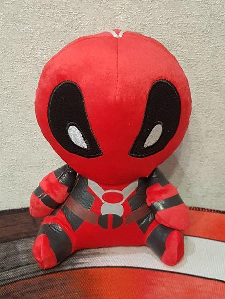 Мягкая игрушка Дедпул, Марвел,Marvel, высота 18см, новая.