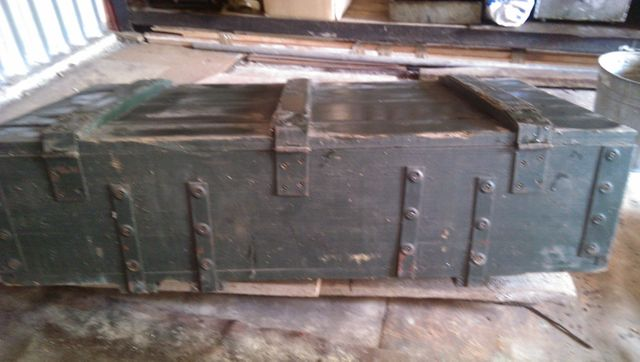 ящик деревяний военного образца