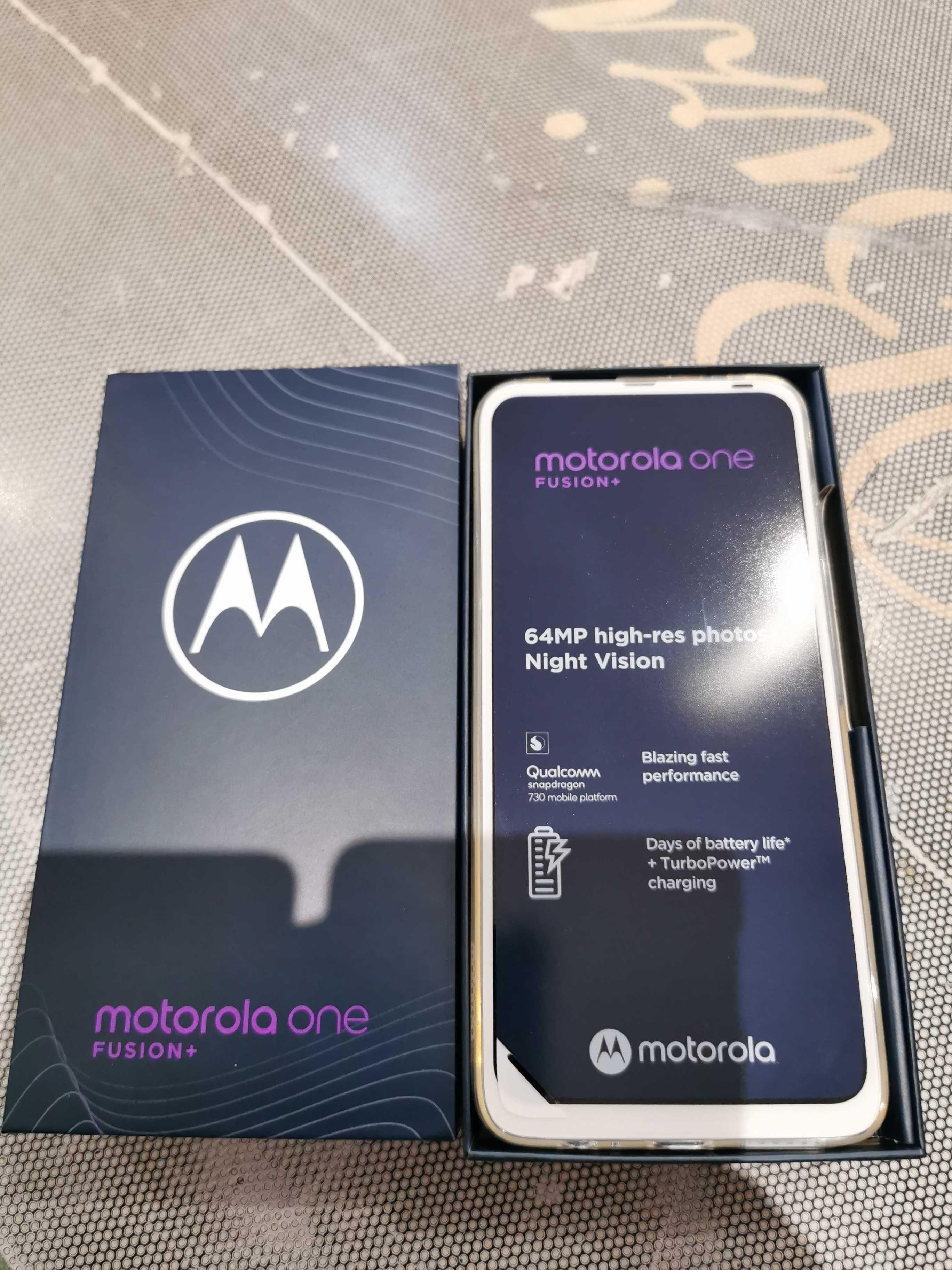 Motorola One Fusion + Nowa