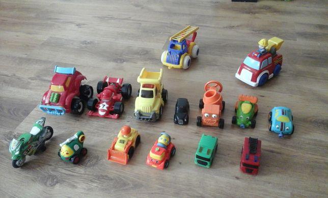 15 auta dla malucha + 1 GRATIS Betoniarka Bob budowniczy, straż, motor