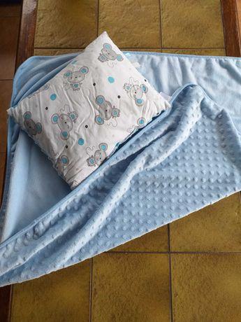 Kocyk+poduszka dla dziecka