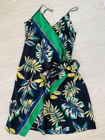 Sukienka wzorzysta ZARA roz. XS