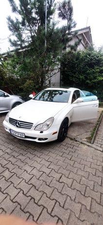 Mercedes CLS 500 do Ślubu Biały V8 przejazdy okolicznościowe