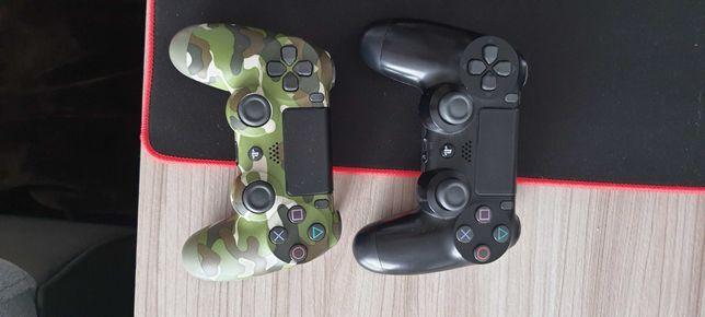 PS4 Slim 500GB + 2 pady + 21 gier