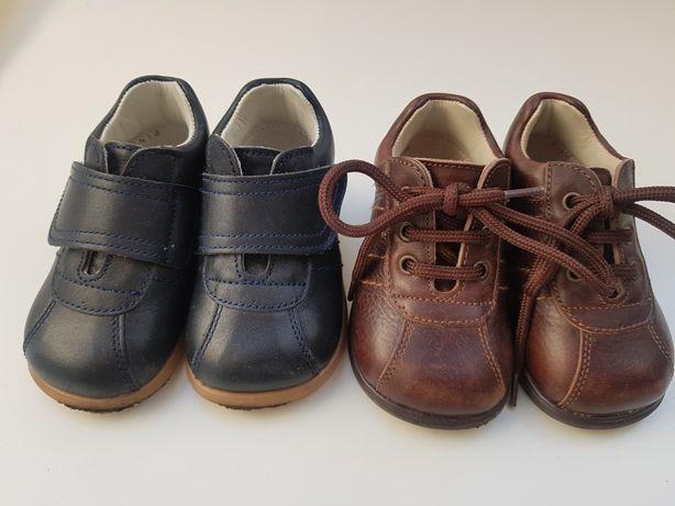 Skórzane buty butki 18