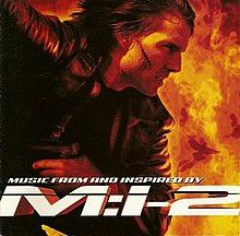 CD Mission Impossible 2 OST (Limp Bizkit, Metallica, Foo Fighters)