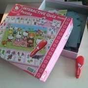 Puzzle interativo Hello Kitty