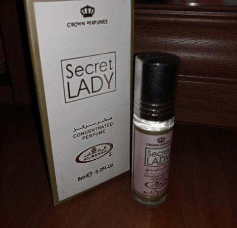 Арабские масляные духи al rehab secret lady