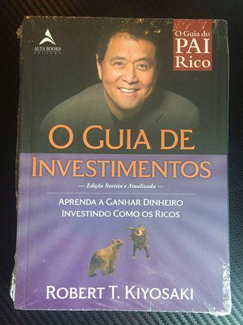 O Guia de investimentos por Robert Kiyosaki Novo nunca folheado