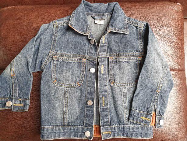 Kurtka jeansowa przejściowa rozmiar 80cm