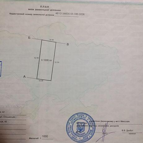 Продаю участок Ул .Ольшанцев Корабельный район со стройматериалом