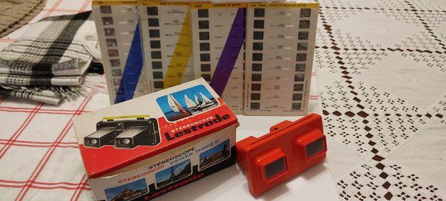 Stereoscop 3d rouge coleção