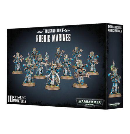 Thousand Sons Rubric Marines Warhammer 40 000