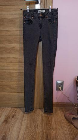 Spodnie skinny czarne