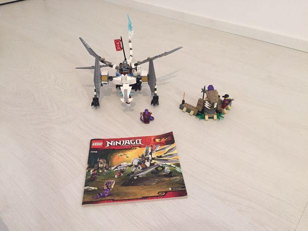 Tytanowy smok lego 70748 ninjago