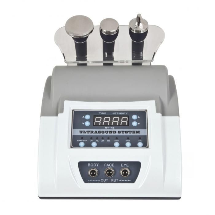 Maquina de Cavitação Ultra sons Com 3 Manipulos