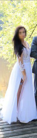 Suknia ślubna+welon polecam