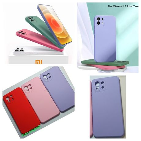 Capa Soft Touch Xiaomi Mi 11 Lite -Nova- 24h