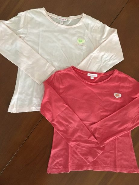 Petit Patapon - Lote de 2 T-shirts 5-6 anos = 3 €