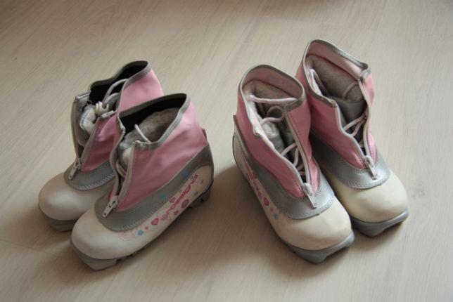 Ботинки для беговых лыж в размерах 29-30