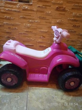 электромобиль для принцессы