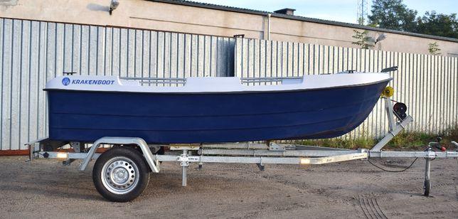 Od 137zł/msc Nowa Łódź łódka Kraken 380 rekreacyjna wędkarska RATY