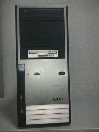 Cистемний блок Intel Pentium 4/RAM 768МбMb /nVIDIA FX 5500 - 128/HDD 1