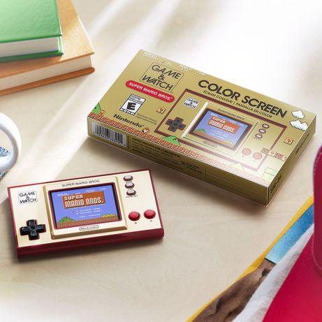 Consola Game & Watch - Super Mario Bros