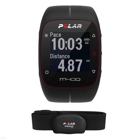 Zegarek polar M400, wodoodporny, pulsometr, biegania, pływania, rower