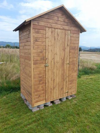 Domek drewniany narzędziowy