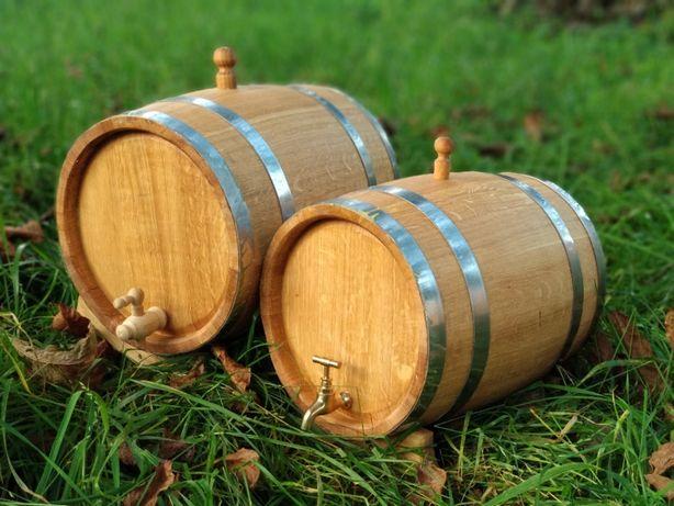 Beczka Dębowa Antałek 3l 5L 10l 15l 20l 30l 50l na Wino Bimber Whiskey