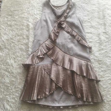Платье  с оборками от Gap