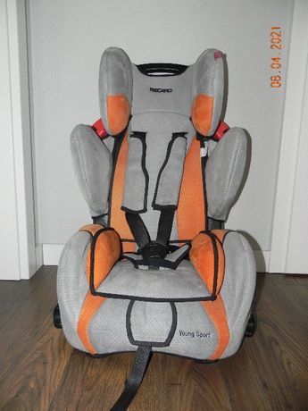 Fotelik samochodowy Recaro Young Sport 9-36kg.