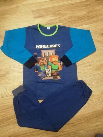 Piżama Minecraft r 140 długi rękaw