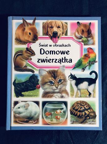 Książka- domowe zwierzątka