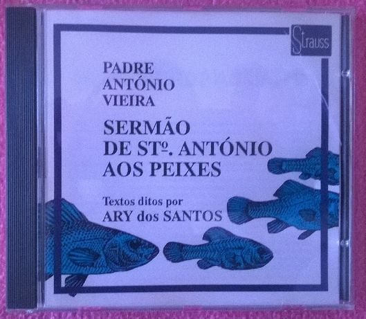 CD Sermão de Santo António aos Peixes - Ary dos Santos