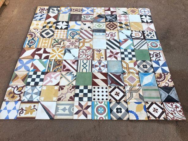 Painel Patchwork em Mosaico Hidráulico