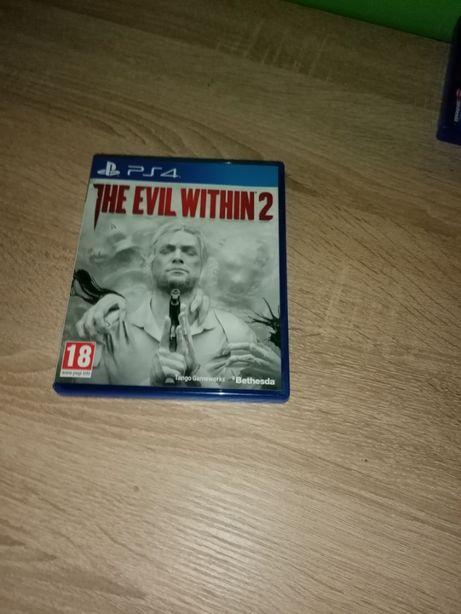 Gra The Evil Within 2 na PS4 - stan idealny
